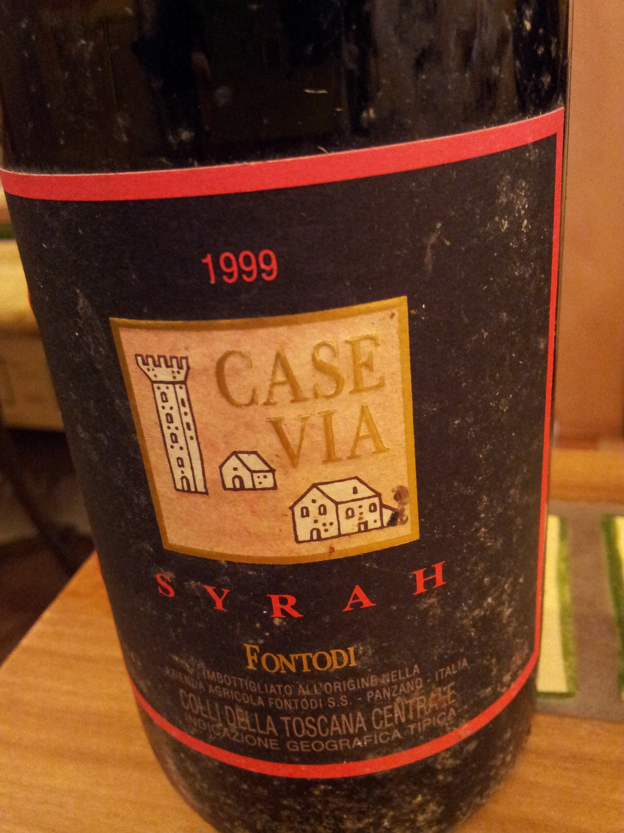 Fontodi Case Via Syrah 1999