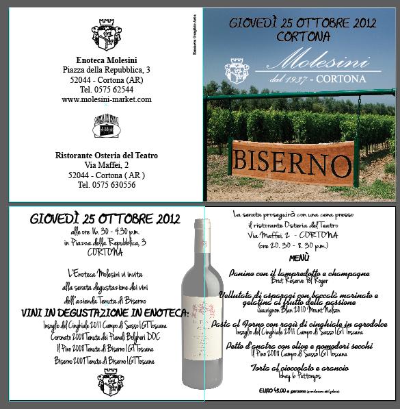 Biserno Wine Tasting