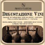 Menu for Wine, Shine & Dine 09/26/13 featuring Montevertine at Osteria del Teatro!