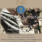 Menu for Wine, Shine & Dine 10/31/13 Masquerade Ball featuring Dei at Osteria del Teatro