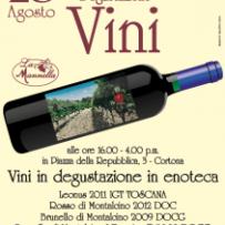 Menu for Wine, Shine & Dine 8/28/14 featuring La Manella at Trattoria Dardano!