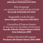 Wine Dine Shine May 11, 2017 in Cortona featuring Barone Ricasoli at La Loggetta!